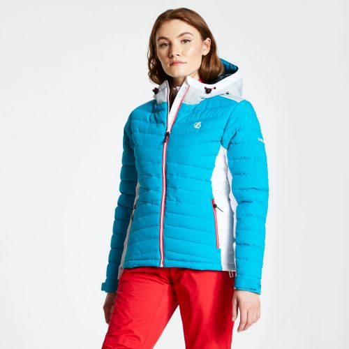 Women's Simpatico Quilted Ski Jacket - Fresh Water Blue
